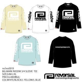九州限定ライン 【reversal リバーサル】BIGMARK RVDDW 7分袖Tシャツ
