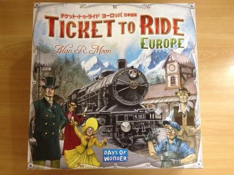 チケットトゥライド拡張 ヨーロッパ - Ticket to Ride: Europe