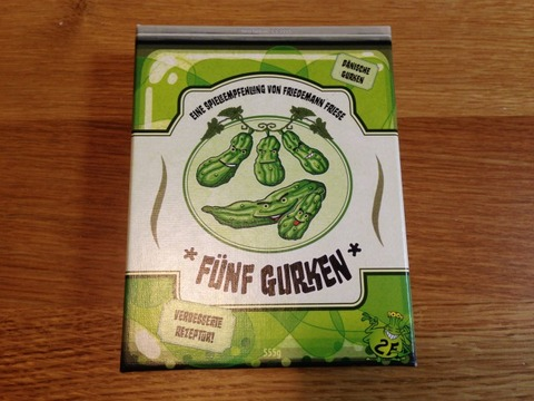 5本のキュウリ - Fünf Gurken