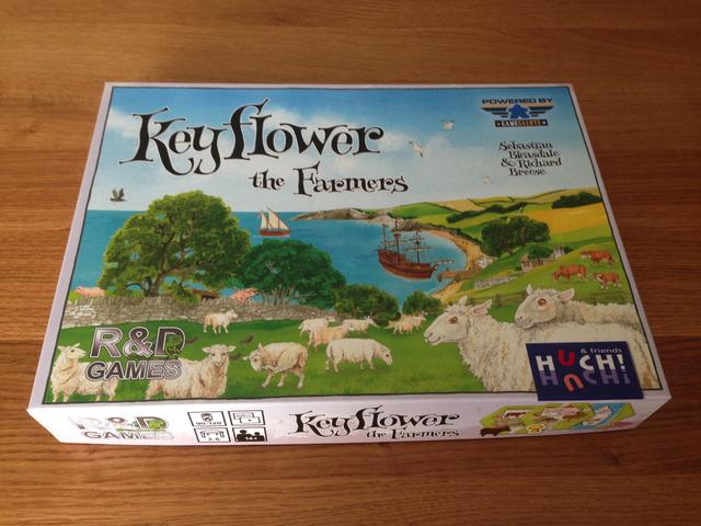 キーフラワー 農夫たち - Keyflower: The Farmers