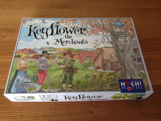 キーフラワー 商人たち - Keyflower: The Merchants