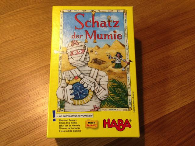 ミイラのたからもの - Schatz der Mumie