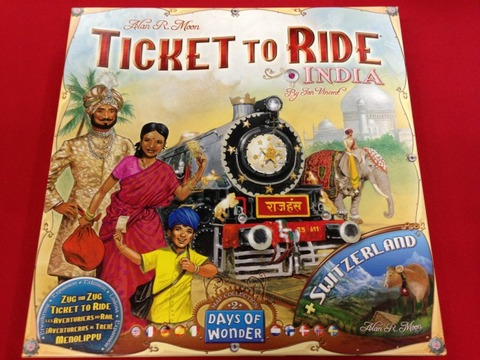 チケットトゥライド拡張 インド - Ticket to Ride: INDIA