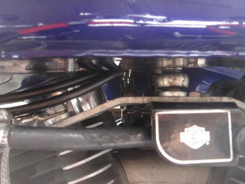 1994年式FXDLハンドル周りカスタム12