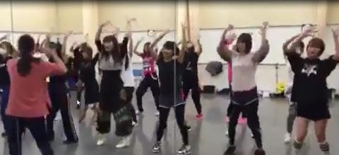 神咲詩織のダンス