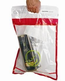 Security tamper-evident bags