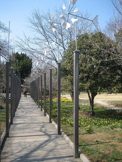 子供の森への歩道