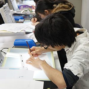 アニメーター科短編アニメ制作