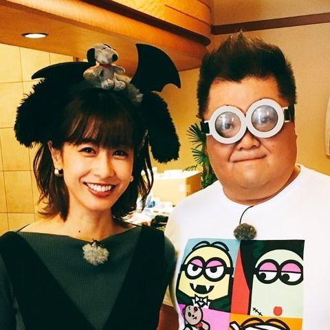 加藤綾子さんのハロウィーンコスに絶賛の嵐wwwwwww