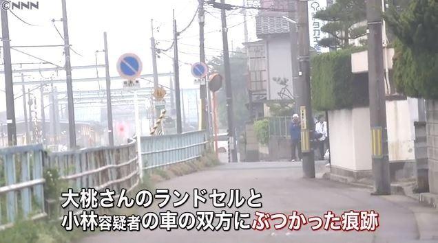 【新潟女児殺害】車とランドセルに衝突痕、近所の人も大きな物音を聞く…小林容疑者の供述どおりか?