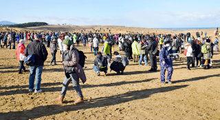 【画像】鳥取砂丘でポケモンGOイベント開催 人が来すぎて関係者も驚き