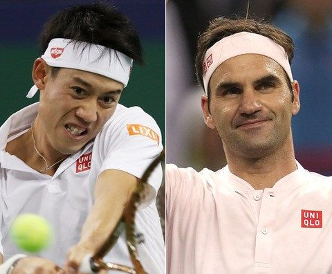 ≪錦織圭 vs フェデラー≫はストレートで錦織が敗れる! ATP1000 上海マスターズ 準々決勝