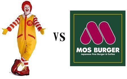 ワイ、マクドとモス以外のハンバーガー屋に入れない