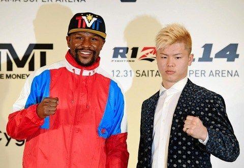 <元UFC王者マクレガー>那須川戦発表のメイウェザーを挑発「狂っている」