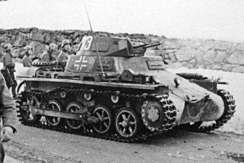 Panzer_I_Norway