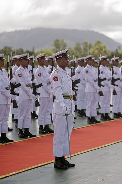 399px-Myanmar_Army_personnel_at_Naypyidaw_reception