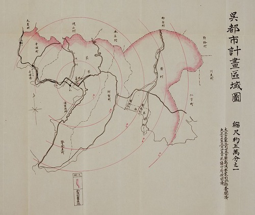 Kure_Urban_planning_1924