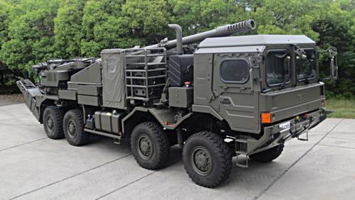 155mm_wheeled_self-propelled_howitzer_prototype