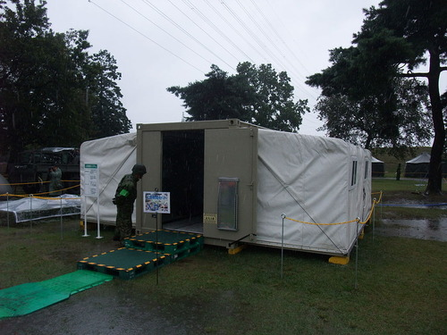 Portable_Container_Shelter_of_the_JGSDF_lifesaving_system
