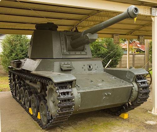 569px-Japanese_Type_3_Chi-Nu_tank_1