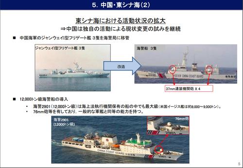 中国海警外務省資料