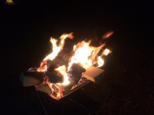 0012焚き火