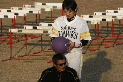 金子選手と山崎選手