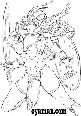 DQⅢ 女戦士