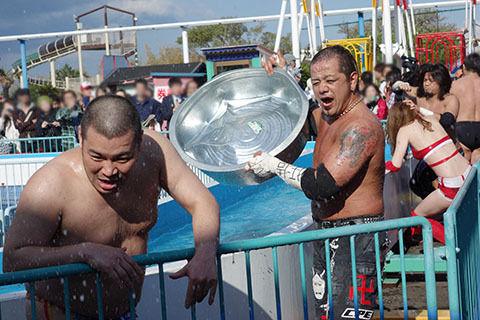 水かけ祭りDDT