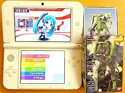 $尾山泰永の漫画生活-3DS LL サイズ比較