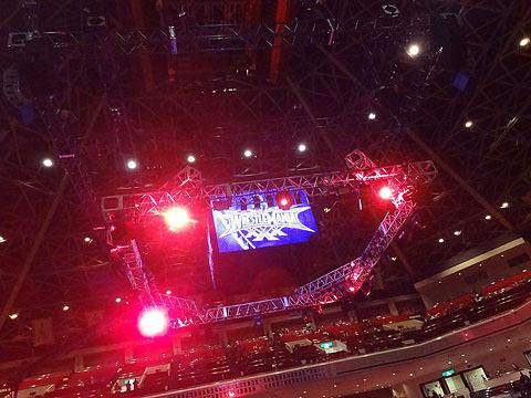 WWE会場