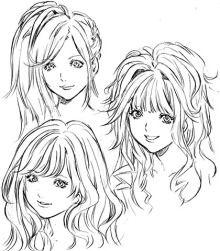 $尾山泰永の漫画生活-盛り髪