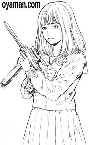 セーラー服と機関銃 橋本環奈ちゃん