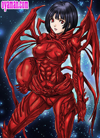 紅天蛾 シドニアの騎士
