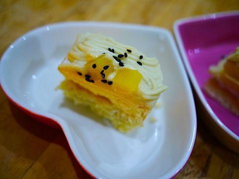 $尾山泰永の漫画生活-ワンちゃんケーキ