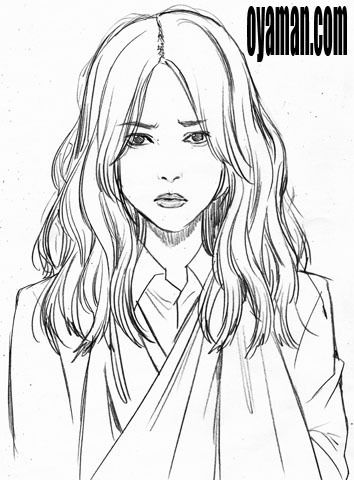 戸田恵梨香さん似顔絵
