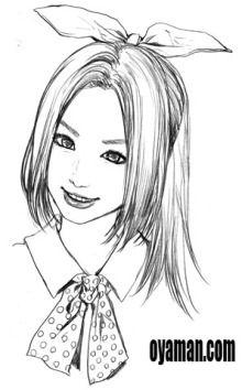 $尾山泰永の漫画生活-泉しんさん 似顔絵