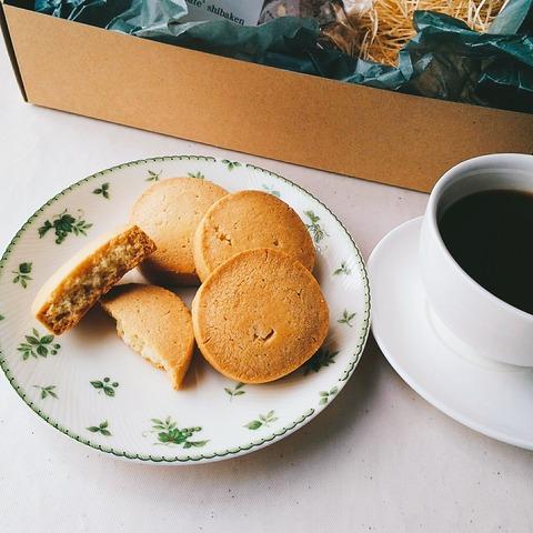 アーモンド粉のクッキー