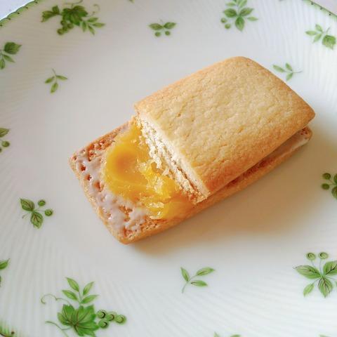 レモンクリームサンド断面
