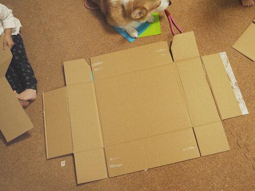 ドールハウスの作り方 展開図完成