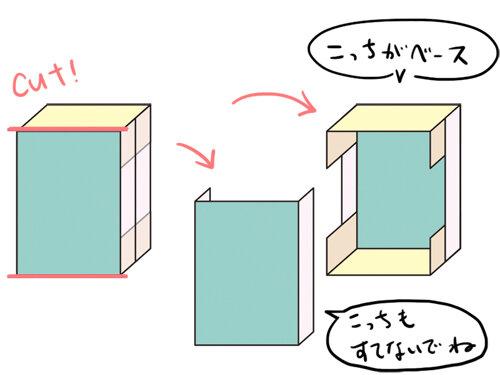 ドールハウスの作り方 解体
