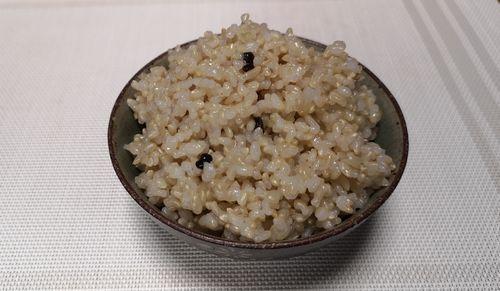 発芽モード玄米ご飯