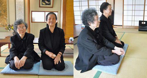 左から義母(84歳)と母(86歳