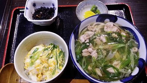 うどん&ミニ丼セット(小鉢付)