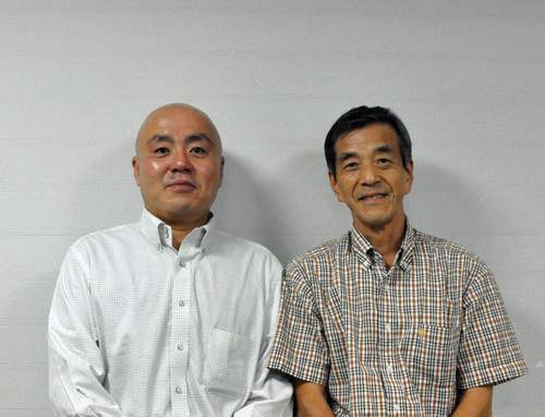 花山専務さんと記念写真