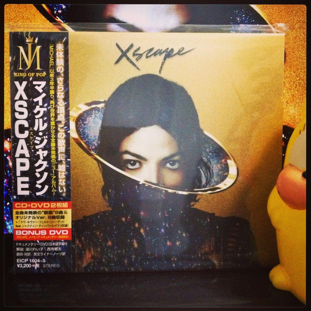 xscape michael jackson deluxe editionXscape Michael Jackson Deluxe