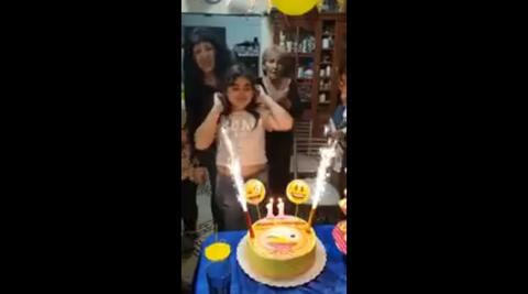 少女誕生日