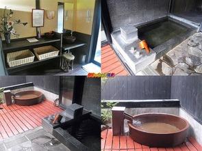 一寸法師の湯/信楽焼の陶器風呂
