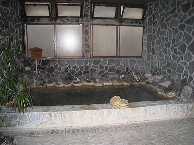男性大浴場浴槽