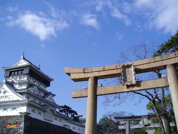 小倉城 八坂神社